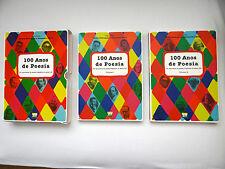100 Anos de Poesia brasileira no seculo XX Volume 1 and Volume 2  2001