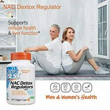 N-Acetyl Cysteine NAC 60 Capsules 600 mg Helps Support Cellular Health Liver USA