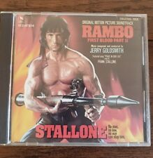 Rambo First Blood Part 2 Soundtrack Jerry Goldsmith CD Varese