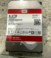 WD Bare Drives WD Red 8TB NAS HDD - 5400 RPM Class SATA 6 GB/S 256 MB Cache 3.5