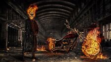Ghost Rider Poster Length :800 mm Height: 500 mm SKU: 4147