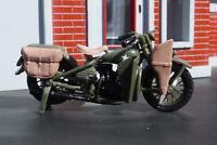 Harley-Davidson 1942 WLA Flathead Motorcycle 1/24 Scale Diorama Item
