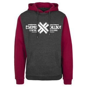 ESKIMO CALLBOY - Hate Us 2 Tone Kapuzenjacke zipped hoodie