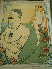 Adam et Eve c'est bien ma veine j'aime pas les blondes Humour Print 1904