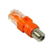 RF Female to RJ45 male Coaxial Barrel Coupler Adapter Coax adapter