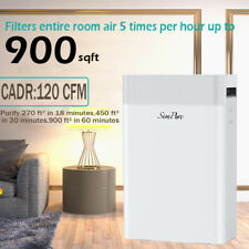 H13 Hepa Air Purifiers for Home Large Room Air Cleaner for Allergies Eliminator