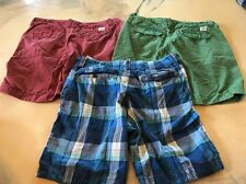 Size 34 Shorts Lot Hollister American Eagle Casual Khaki Style