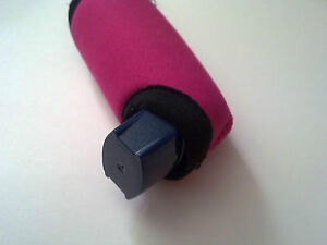 Mitzy pink Asthma personal inhaler insulating COVER ONLY NO MEDICATION INCLUDED