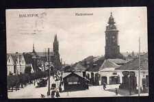 113307 AK Bialystok Marktstraße Kirche 1915 Feldpost