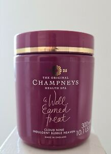 Champneys CLOUD NINE INDULGENT BUBBLE HEAVEN Bath Soak 300ml New FREE FAST P&P
