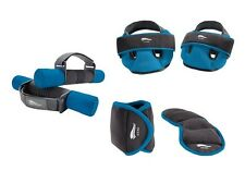 Fitness Gewichteset Gewichte Set 6teilig blau Softhanteln Bein Aerobic Gewichte