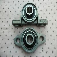 1pc Zinc Alloy Pillow Block Flange Bearing 8/10/12/15/17mm Bore Inside Diameter