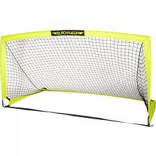 Yellow Portable Pop-Up 12 x 6 Soccer Goal & Net Durable Outdoor Fun Sports