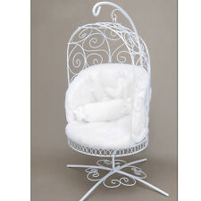 [Dollmore] Bjd 1/4 Scale Bird Cage Style Iron Chair (White/White)