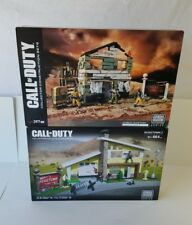 Call of Duty 2-Lot Mega Blocks Zombies Nuketown/Nuketown 2 collector series NIB