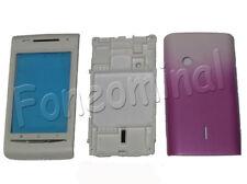 Para Sony Ericsson Xperia X8 X8i E15i vivienda Fascia Batería Trasera Cubierta Rosa del Reino Unido