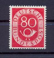 Bund 137 Posthorn 80 Pfg. postfrisch geprüft HD Schlegel (xs169)