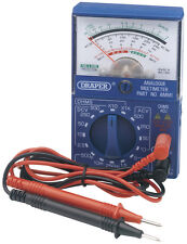Draper Pocket Analogue Multimeter - 37317