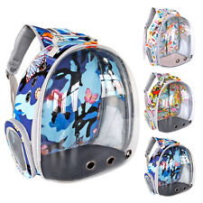 Pet Backpack Carrier Small Dog Cat Portable Travel Bag Transparent Capsule Space