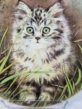 "1985 Royal Worcester/Pam Cooper Kittens Classic 3rd Issue ""Wild Flower"" Nib/Coa"