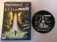 VIDEO GAME - Aliens Versus Predator Extinction PS2 PlayStation 2 PAL No Manual