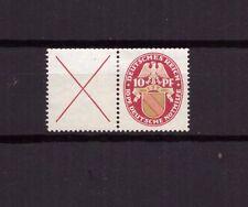 U0136) Reich 1926 se-tenant from booklet pane Nothilfe, W24.1, original gum, MH