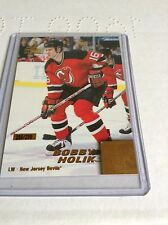 99-00 1999-00 PACIFIC OMEGA BOBBY HOLIK GOLD PARALLEL /299 136 DEVILS