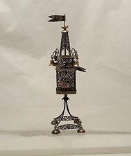 Judaica Silver Spice / Besamim Tower