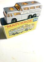 1965 Matchbox Superfast No 66 Greyhound Coach Mint in Excellent Box MIB Diecast