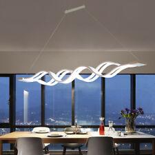 60W lampadario moderno LED da soffitto sospensione luce del pendente Bar onda