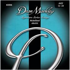 Dean Markley 2506 Signature Jazz NickelSteel Electric Guitar Strings 12-54