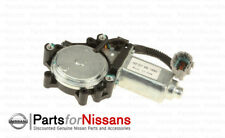 Genuine Nissan Power Window Motor LH Driver Side Titan Armada QX56 (see chart)