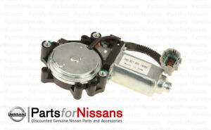 Genuine Nissan Power Window Motor LH Driver Side Titan Armada QX56 (see chart)