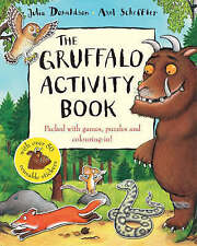 The Gruffalo Activity Book by Julia Donaldson BRAND NEW BOOK (Paperback, 2007)