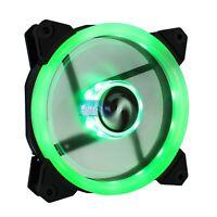 Ventola PC 120mm LED Verde Suranus RING SU-Q12025FD 3+4 pin 1200 rpm 12 cm 120 m