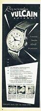 Publicité Advertising 097  1954  la montre Vulcain cricket homme