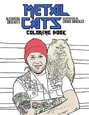 Metal gatos para colorear libro por Alexandra Crockett (de Bolsillo, 2017)