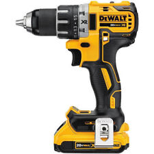 DEWALT DCD791D2 20V MAX XR Li-Ion Brushless Compact Drill / Driver Kit NO RESERV