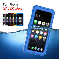 Waterproof Shockproof Dirtproof Underwater Case Cover For iPhone Xs Max/Xr/7/8