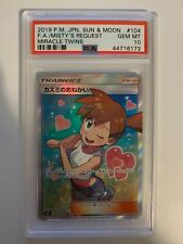 Misty's Request - 104/094 - Miracle Twins - Holo Rare - PSA 10 Gem Mint