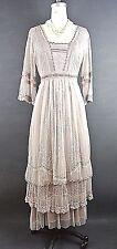 Nataya Titanic Dress Victorian Romantic Vintage Style Dresses Dusty Pink S
