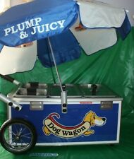 Nemco Hot Dog Wagon Tabletop Cart Steamer Merchandiser Party Countertop Server