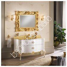 mobile bagno classico Barocco Moderno Top Oro Cristallo E Swarovski