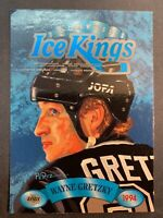 1993-94 Leaf Donruss Ice Kings # 4 Of 10 Wayne Gretzky LA Kings Insert
