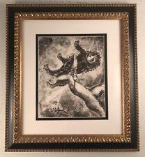 Samson and the Lion ( Samson et Le Lion) by Marc Chagall.  1956