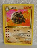 1st Edition Golem # 36/62 Fossil English Uncommon Pokemon Card@