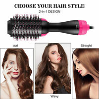2 in 1 Multifunctional Hair Dryer Comb Hair Salon Brush Roller Rotate Best Gifts