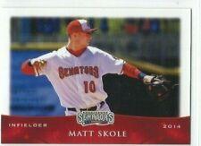 2014 Harrisburg Senators (Double-A Washington Nationals) Matt Skole