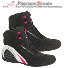 Scarpe donna moto Dainese Motorshoe WP lady black white fucsia 36 woman shoes