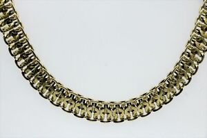Necklace And Bracelet From Gold Plated Tombak